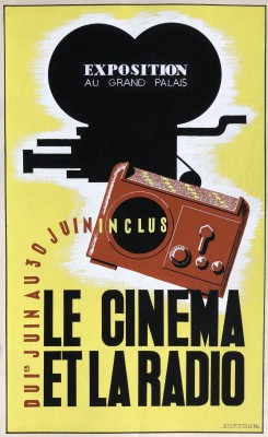 Jacques André Duffour (1926-2016)Le cinema et la radio, c. 1950