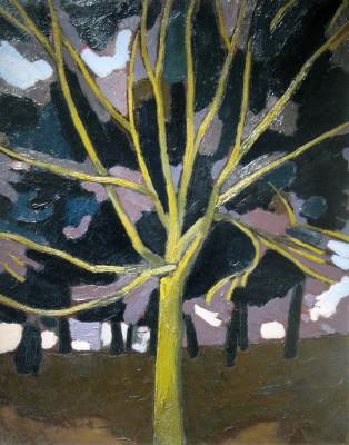 Bryan Senior (b. 1935)Yellow Tree, 1961