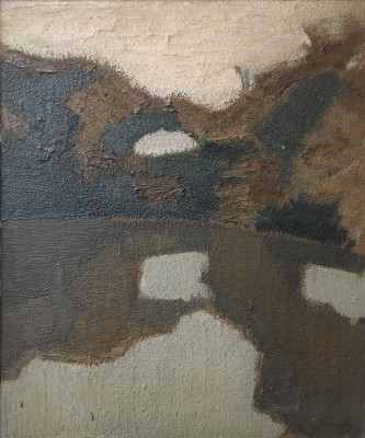 Bryan Senior (b. 1935)Duck Pond, Sark, 1960