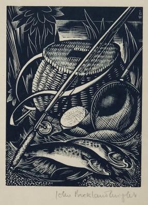 John Buckland Wright (1897-1954)Fly Fishing, 1933