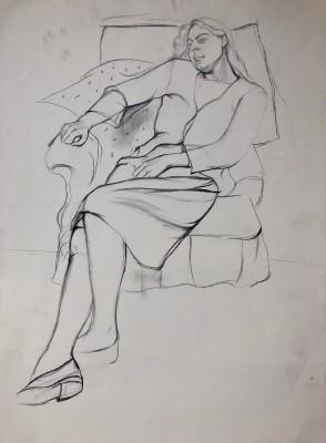 Dorothy Hepworth (1898-1978)Patricia Preece Seated, c. 1927