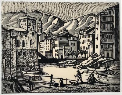 Ethelbert White (1891-1972)Rapallo (Old Rapallo), 1924
