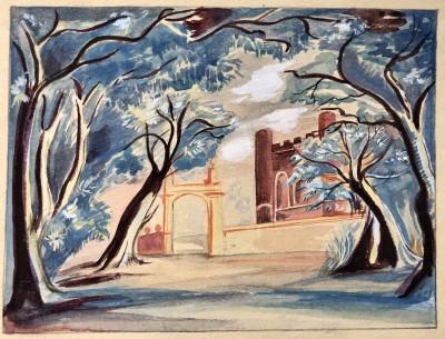 Jean Hugo (1894-1984)Design for 'A Hundred Kisses', 1935