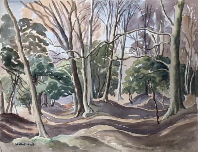 Ethelbert White (1891-1972)Woodland Landscape, Surrey, c. 1938