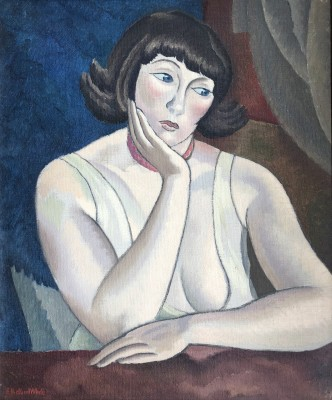 Ethelbert White (1891-1972)Portrait of Betty, c. 1925