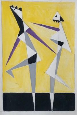 Edward Rogers (1911-1994)Dancing Figures , 1961