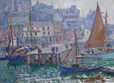 John Anthony Park (1880-1962)Brixham Harbour, c. 1920
