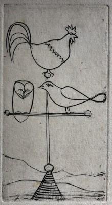 André Derain (1880-1954)Design for Weather Vane, 1940's