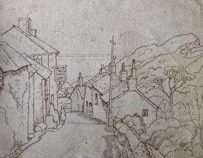 Ethelbert White (1891-1972)Porlock, c. 1930
