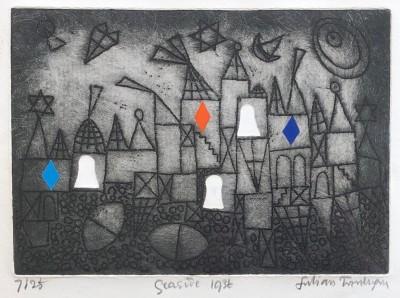 Julian Trevelyan (1910-1988)Seaside, 1972