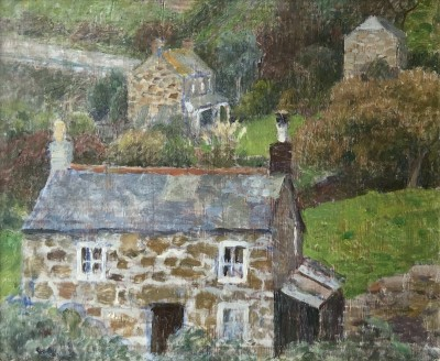 Dod Procter (1892-1972)Penberth Valley, c. 1940