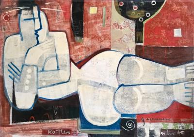 Klara Koitler (b. 1954) ()Japanese White