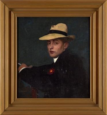 Adolf Heller (1874-1914)A Young Dandy, 1905