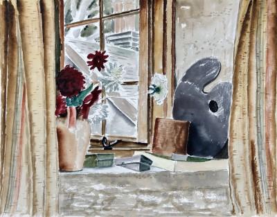 Ernest Fedarb (1905-2005)A Corner of my Hampstead Studio, c. 1935