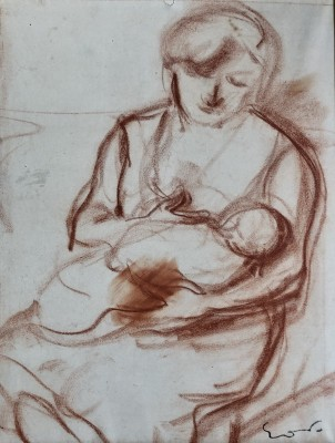 Othon Friesz (1879-1949)Mother and Child, c. 1925