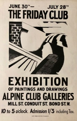 Paul Nash (1889-1946)The Friday Club, 1920