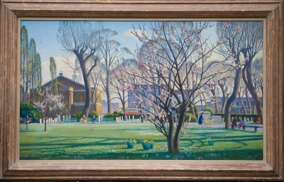 Adrian Allinson (1890-1959)Almonds and Ashes, St. John's Wood, c. 1938