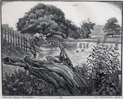 William T. Rawlinson (1912-1993)The Lake, Ragley, Warwickshire, 1957