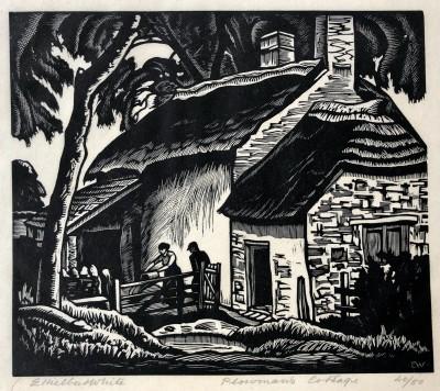 Ethelbert White (1891-1972)The Ploughman's Cottage, 1924