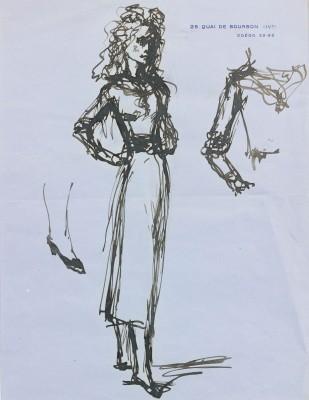 Balthus (1908-2001)Portrait of Iya, Lady Abdy (I) , 1935