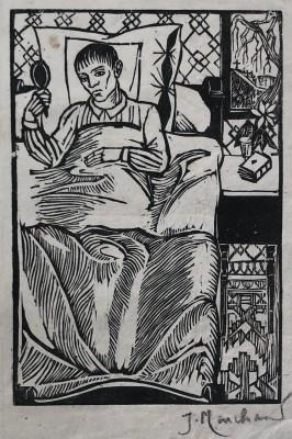 Jean Marchand (1883-1940)For 'Le Jugement Dernier' by Henry Malherbe, 1920