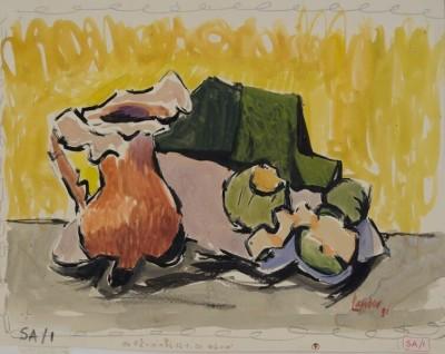 Kenneth Lauder (1916-2004)Study for Still Life, 1951
