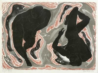 Blair Hughes-Stanton (1902-1981)Night , 1957-75