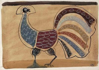 André Derain (1880-1954)L'Oiseau (Paon), c. 1930