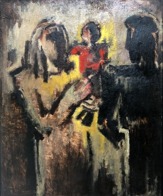 Josef Herman (1911-2000)The Miner's Family