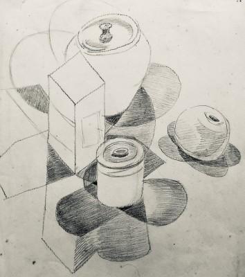 Doris Hatt (1890-1969)Cubist Still Life Study, c. 1940s