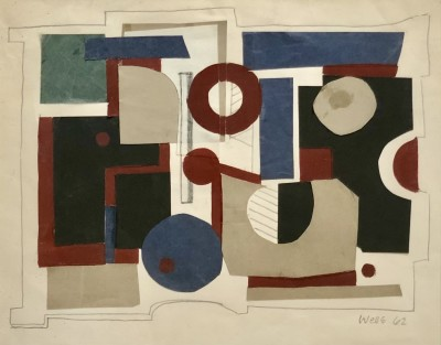 Donald Wells (1929-2014)Composition 1962