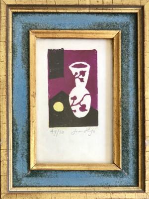 Jean Hugo (1894-1984)Still Life with Vase and Lemon, c. 1940