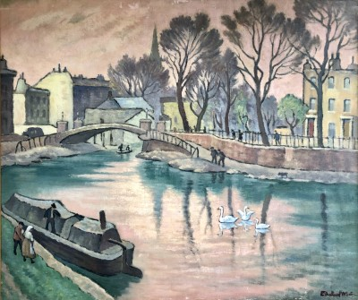 Ethelbert White (1891-1972)Regents Canal, 1938