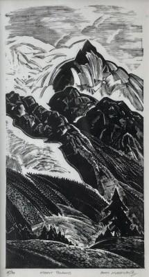 Iain Macnab (1890-1967)Mont Blanc, 1928