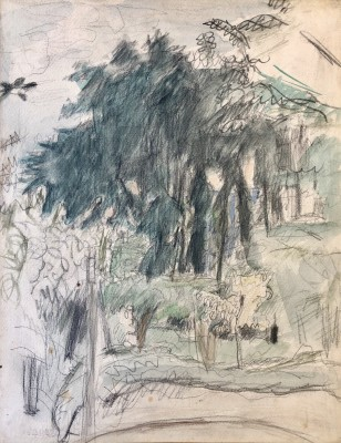 Pierre Bonnard (1867-1947)Landscape at Le Cannet, c. 1930