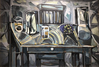 Kenneth Lauder (1916-2004)The Grey Table, 1956