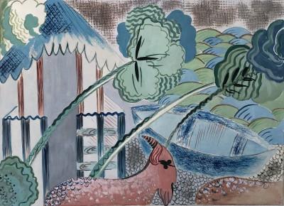Peggy Welch ()Surrealist Landscape, 1938