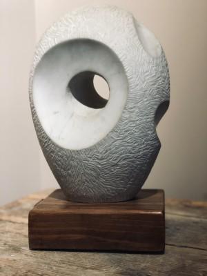 Moelwyn Merchant (1913-1997)Pierced Oval Form, c. 1960s