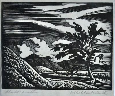 Ethelbert White (1891-1972)Chalk Water, Exmoor, 1923