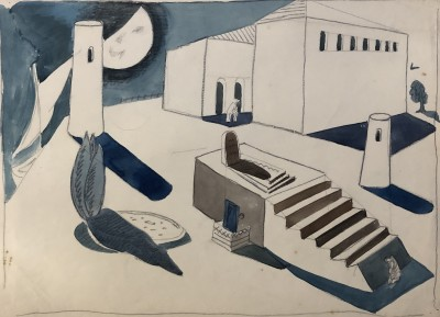 Doris Hatt (1890-1969)Surrealist compostion, c. 1940