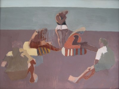 Hans Schwarz (1922-2003)Bathers II, 1966