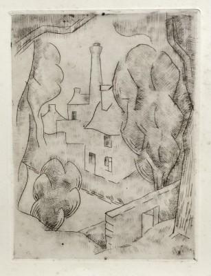 Jean Metzinger (1883-1956)Village cubiste, 1917