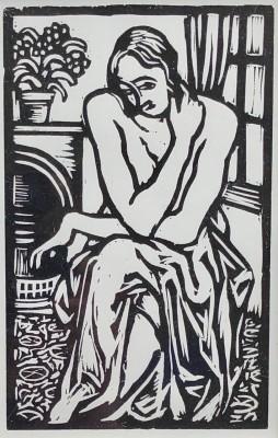 Roger Fry (1866-1934)Interior, 1921