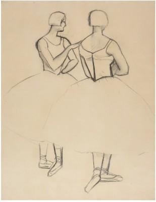 André Derain (1880-1954)Danseuses I (For the Ballets Russes), c. 1927