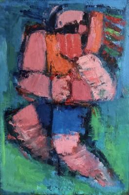 Klaus Friedeberger (1922-2019)Girl Playing, 1962