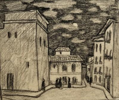 Ethelbert White (1891-1972)Old Rapallo, c. 1924