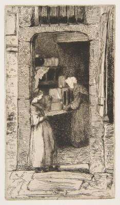 James Abbott McNeill Whistler (1834-1903)La Marchande de moutarde, 1858