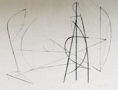 Robert Adams (1917-1984)Linear Composition, 1949
