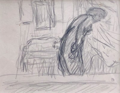 Pierre Bonnard (1867-1947)Marthe in The Bathroom, c. 1920