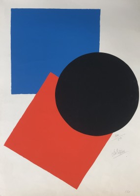 Lucienne Olivieri (1910-2007)Composition, c. 1968